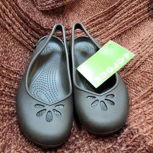 Crocs brown sandle
